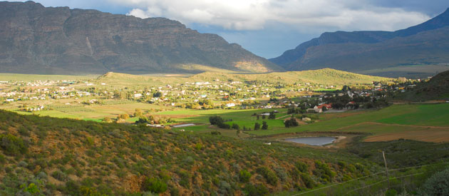 Barrydale a Picturesque Town